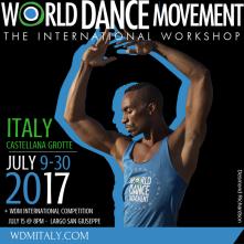 World Dance Movemet Italia: Stage, Concorso e Audizione Royal Caribbean.