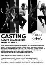 Studio Gem di Milano: casting per insegnanti e istruttori di ballo, danza e fitness per la stagione 2017-2018.