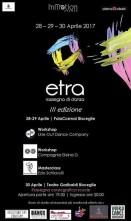 etra: rassegna e workshop con Lineout Dance Company, compagnia Eleina D e Ezio Schiavulli