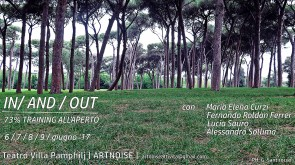 IN/AND/OUT. 73% training all'aperto