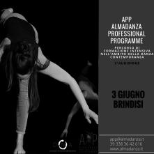 Audizione APP-Almadanza Professional Programme a Brindisi