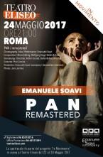 PAN/remastered di Emanuele Soavi al Teatro Eliseo di Roma per InMovimento