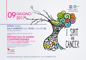 I Spit on Cancer con la Valeria Vallone Dance Company a Roma
