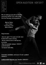 Valencia Dancing Forward, audizione aperta per la stagione di VDF 2017 (Spagna)