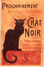 Lo Chat Noir e i Teatri d'Ombre a Parigi. Influenza sull'arte illustrativa fra '800 e '900.