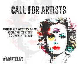 MArteLive 2017. Call per giovani talenti in teatro, danza, arte circense e letteratura