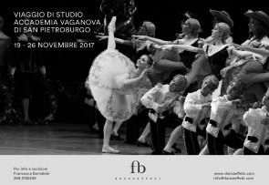 Accademia Vaganova di San Pietroburgo. Viaggio di studi per insegnanti di danza dal 19 al 26 novembre 2017.