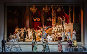 Damiano Michieletto e Stefano Montanari regalano uno strepitoso Viaggio a Reims di Rossini al Teatro dell'Opera di Roma