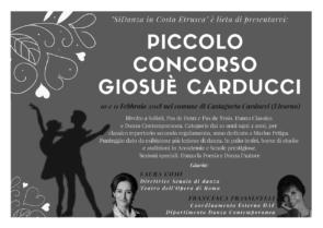 Piccolo Concorso Giosuè Carducci
