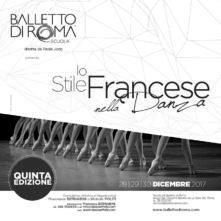 Stage di danza classica per allievi e insegnanti con Professori dell'École de Danse dell'Opéra di Parigi dal 28 al 30 dicembre 2017