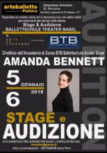 Stage e audizione con Amanda Bennett