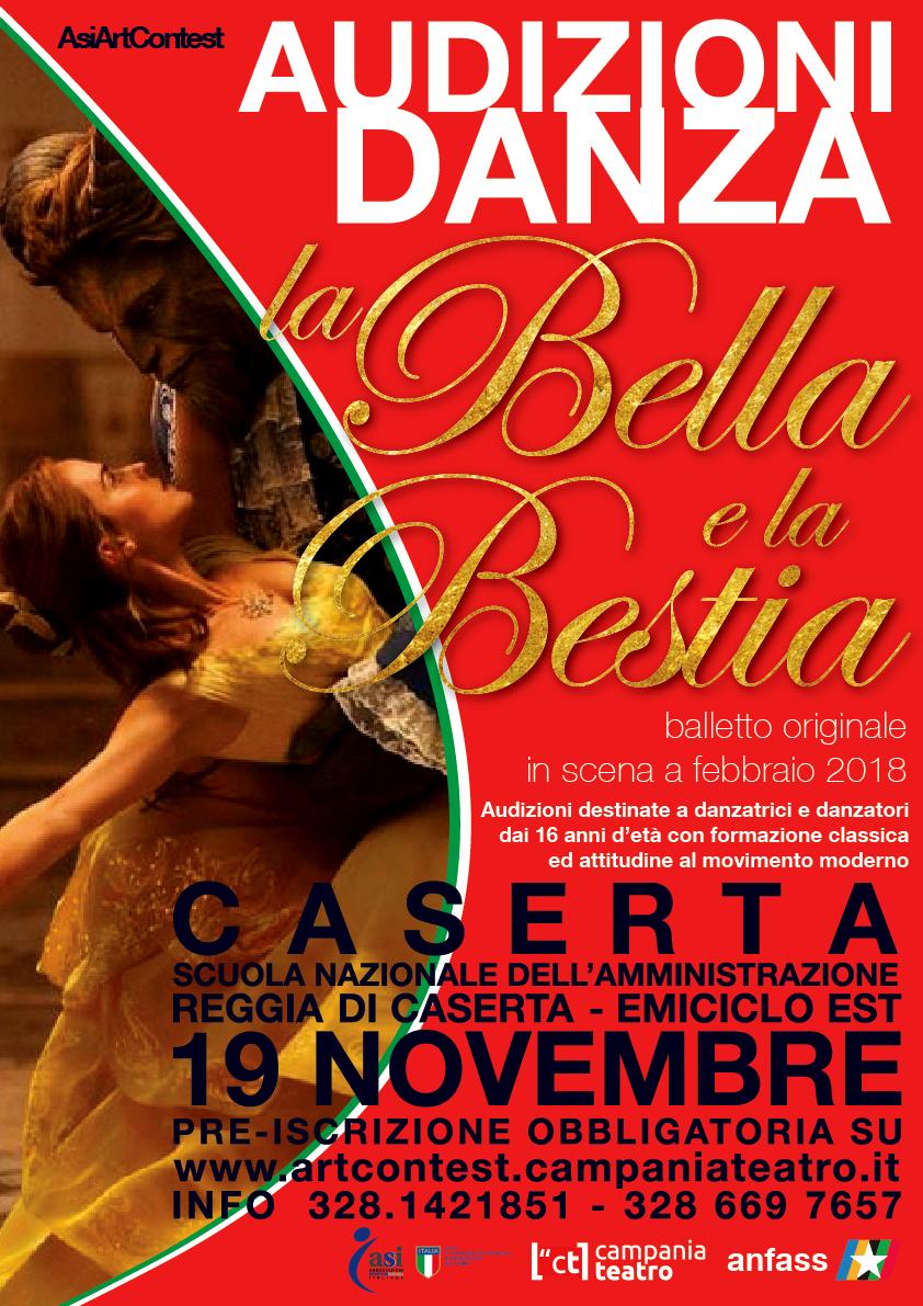 A caserta audizioni danzatori e danzatrici per spettacolo for Cerco lavoro a caserta