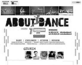 Concorso Nazionale di Danza About Dance… la danza che vuoi!