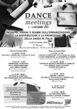 Dance Meeting. A Milano un seminario sull'organizzazione, la distribuzione e la promozione della danza in Italia