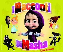Masha e Orso: in tour in Italia Masha's Tales, I Racconti di Masha, il nuovo spettacolo teatrale