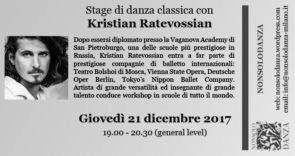 Stage di danza classica con Kristian Ratevossian