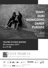 A Rovigo Tempi duri richiedono danze furiose di e con Simona Argentieri, Marta Tabacco e Romina Zangirolami