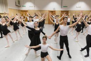 Stage natalizio della Scuola di Danza del Teatro dell'Opera di Roma