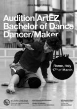 Audizione per Artez School of Dance