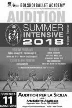 Bolshoi Ballet Academy. Catania stage audizione per il Summer Intensivo