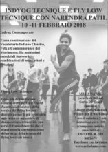 Stage di tecnica Flying Low e Indycontemporary dance con Narendra Patil