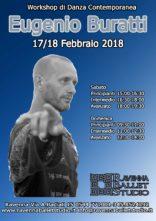 Workshop di danza contemporanea con Eugenio Buratti