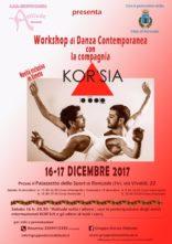Workshop di danza contemporanea con i Kor'sia