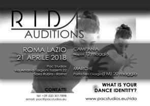 Audizioni RIDA, Rome International Dance Academy