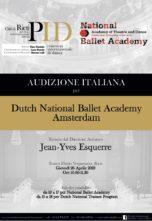 Audizione Dutch National Ballet Academy a Rieti