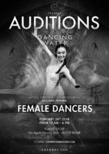 Audizioni Dragone per The House of Dancing Water a Roma