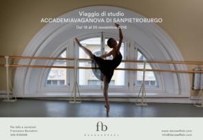 Accademia Vaganova di San Pietroburgo. Viaggio di studio dal 18 al 25 novembre 2018