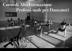 Audizione Corso di alta formazione professionale per danzatori diretto da Steve LaChance