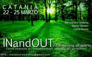 InAndOut 73% training all'aperto