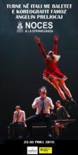 In Puglia il Balletto del Teatro Nazionale dell'Opera di Tirana con Noces e La stravaganza di Angelin Preljocaj