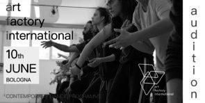 Audizione Art Factory International 2018-2019