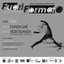 FuoriFormato - Festival Internazionale di danza, videodanza, performance. Open Call