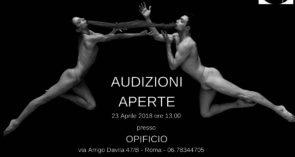 Audizione NoGravity Company di Emiliano Pellisari a Roma