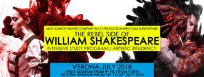muZo Dance Theatre Company. The rebel side of William Shakespeare. Programma Studio Intensivo.