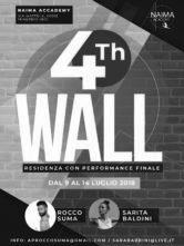 4thWALL. Residenza coreografica con performance con Rocco Suma e Sarita Baldini