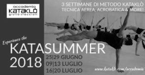 KataSummer 2018. Stage con i docenti di Accademia Kataklò