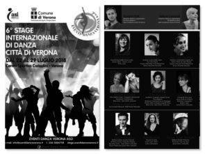 Stage Internazionale di Danza Città di Verona 2018