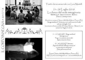 La Danze del reale immaginario. Stage con Lara Martelli