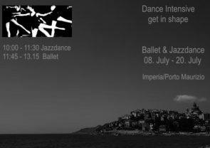 Stage di danza classica e jazz in Liguria
