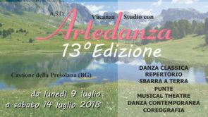 Stage estivo Artedanza