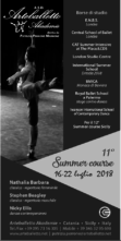 Summer Course in Sicily 2018