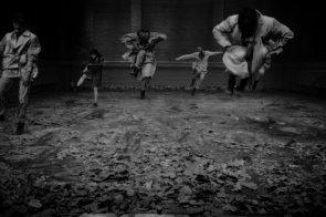 La Cie Toula Limnaios in Tempus Fugit a Universo Assisi, A festival in secret places