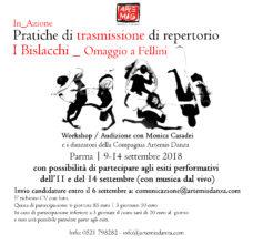 Compagnia Artemis Danza. Stage di repertorio su I Bislacchi di Monica Casadei