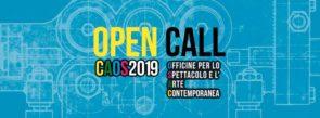 CAOS. Open call 2019 nazionale e internazionale di Stalker Teatro e officine CAOS di Torino