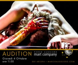 Audizione della compagnia Marco Auggiero Mart Company