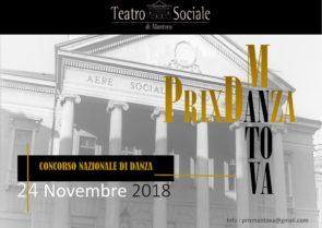 Concorso di Danza al Teatro Sociale di Mantova